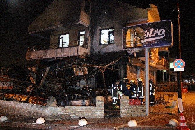 Konya'da Kafe Yangını