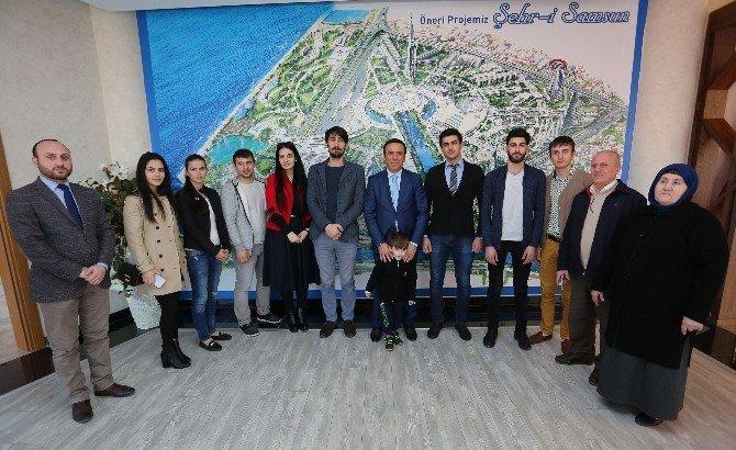 Ahıska Türklerinden Canik'e Park Teşekkürü
