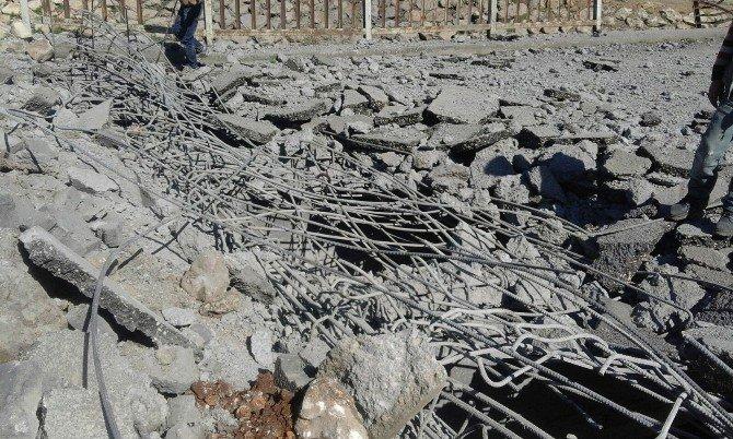 Nusaybin'de Köprüye Bombalı Saldırı