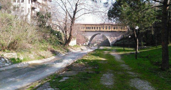 Osmangazi Belediyesi Dere Kıyılarını Temizledi