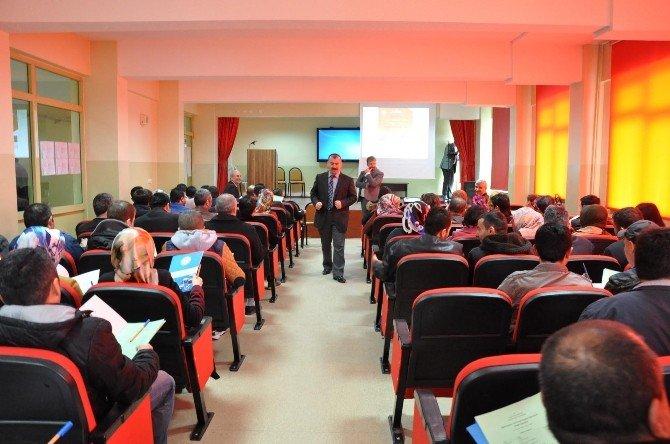Sorgun'da Proje Tasarım Etkinlikleri Çalıştayı Yapıldı