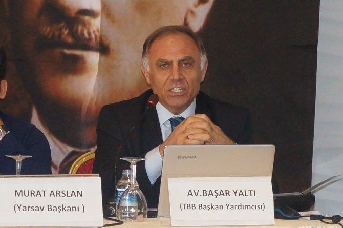 YARSAV Başkanı Arslan: Yargı tek adam iradesine teslim olmuş vaziyette