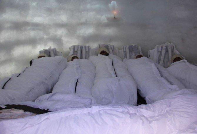 Mehmetçik, Derin Kar Ve Şiddetli Soğuğa Karşı