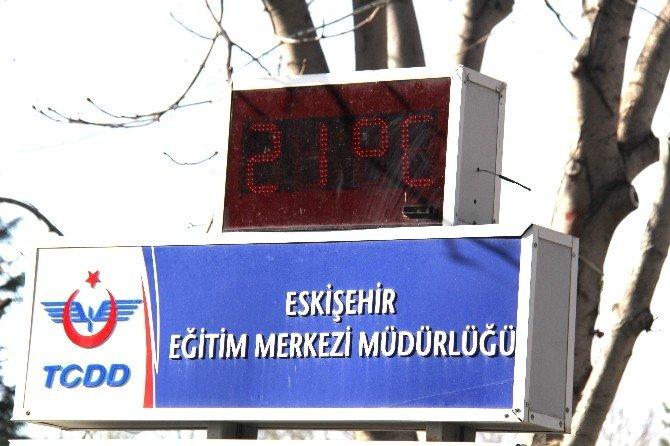 Eskişehir Mart Ayına Sıcak Giriş Yaptı