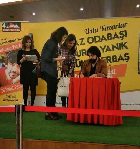 Malatya Park'ın Son Konukları Usta Yazarlar Kaan Murat Yanık Ve Şükrü Erbaş Oldu