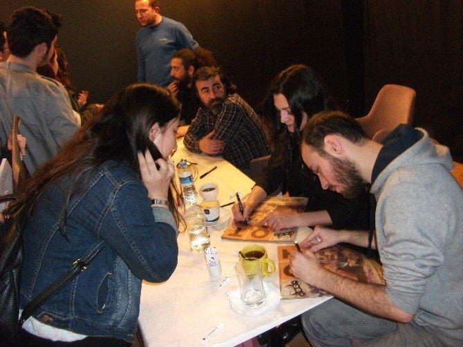 Ot Dergisi Yazarları Eskişehir'deydi