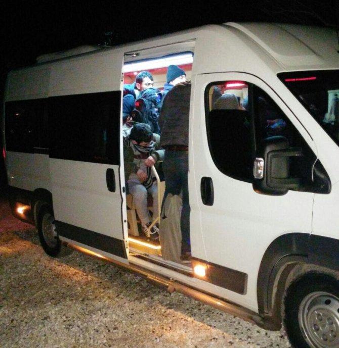 Yunan ve Bulgar sınırında 131 kaçak yakalandı