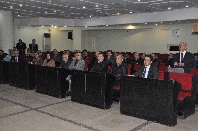 Katı Atık Bilgilendirme Toplantısı Yapıldı