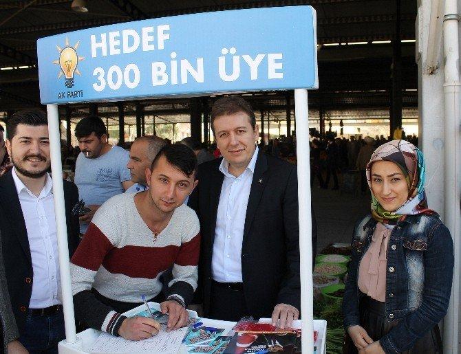 AK Parti Denizli İl Başkanı Filiz, Esnafları Ziyaret Etti