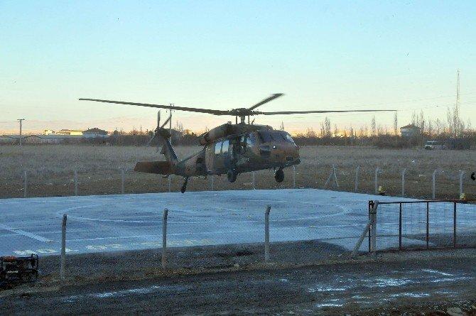 Akşehir'e Işıklandırmalı Helikopter Pisti