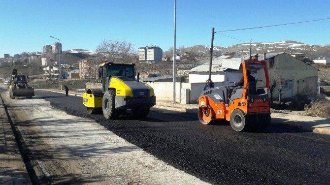 Bayburt Belediyesi, Asfalt Çalışmalarına Başladı