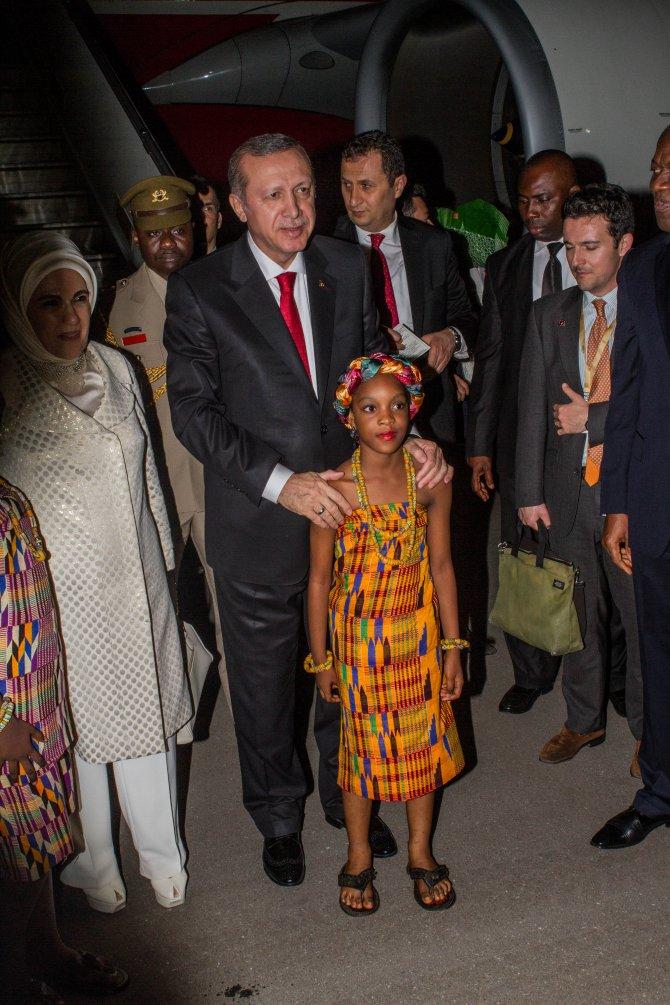 Cumhurbaşkanı Erdoğan Gana'da