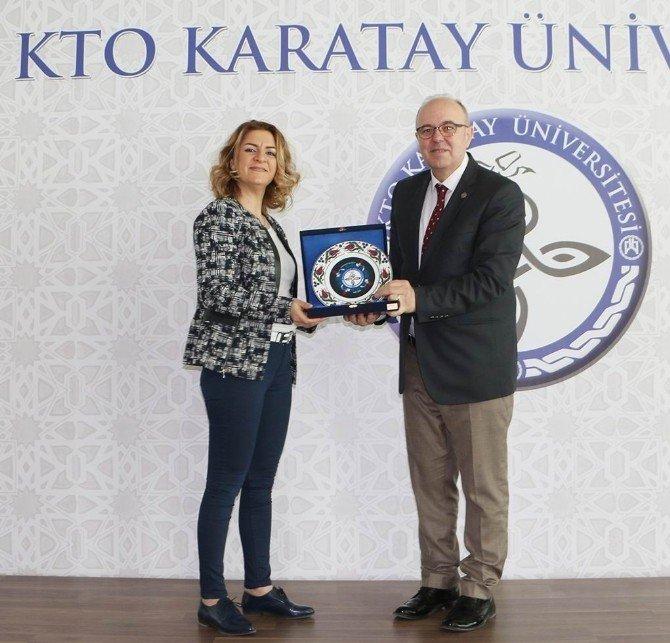 """KTO Karatay Üniversitesi'nde """"İşim 1512"""" Anlatıldı"""
