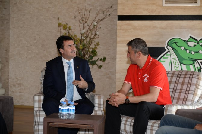 Hamza Hamzaoğlu'na moral ziyareti