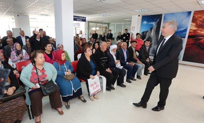Başkan Zolan Halk Günü'nde Vatandaşlarla Buluştu