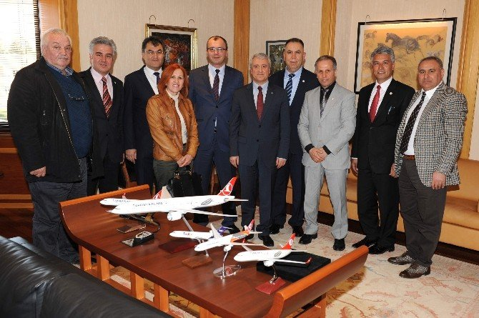 Çifteler'den Rektör Gündoğan'a Ziyaret