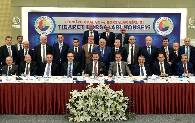 Bektaş, Ticaret Borsaları Konsey Toplantısına Katıldı