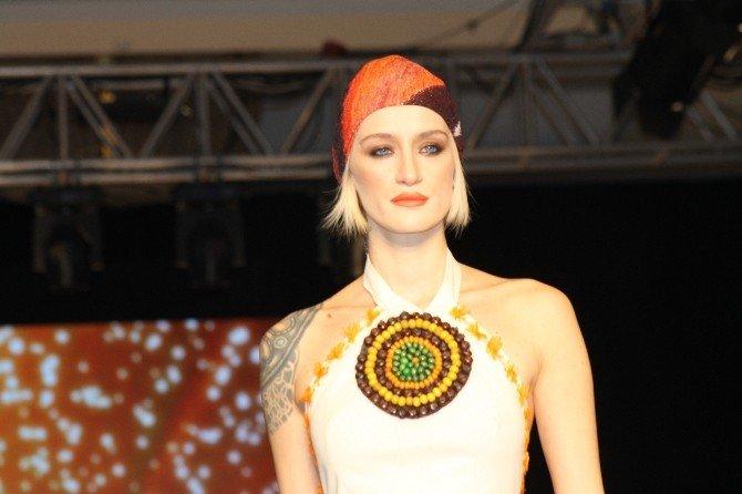 Ünlü Mankenler Denizli'nin Tekstil Ürünlerini Sergiledi