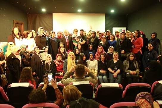 Diriliş Başkanları'nın Osmanlı Tarihi Ve Hanımlar Konulu Semineri Yapıldı