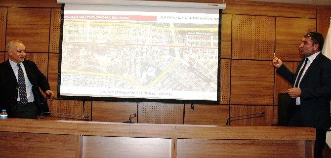 Gaziantep'in Ulaşım Planı Konuşuldu