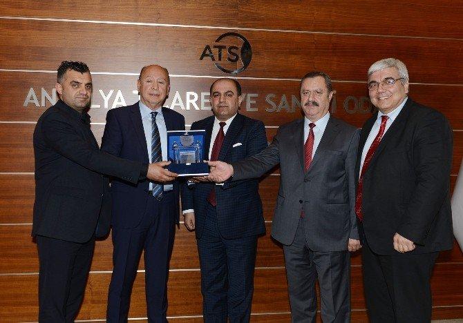 Irak Heyeti'nden ATSO'ya Ziyaret