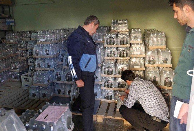 Haliliye'de Zabıtalar Halk Sağlığını Koruyor