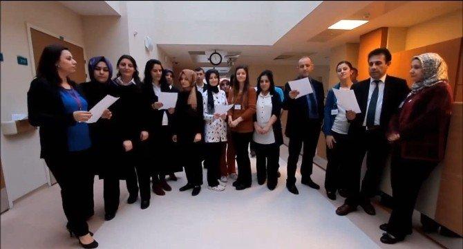 Hastane Personeli, 'Sen Kadınsın, Gel Yaparsın' Klibinde Oynadı