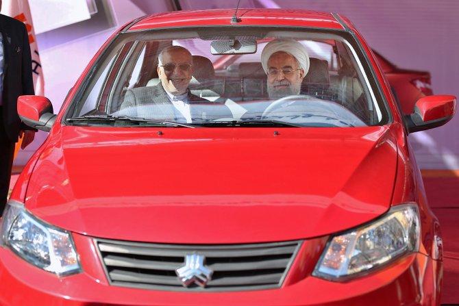 İran'ın yeni otomobili ve dizel motoru tanıtıldı