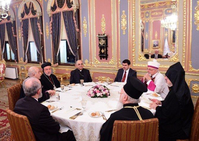 Vali Şahin 'Dersaadet Buluşmaları'nda Dini Liderler İle Bir Araya Geldi
