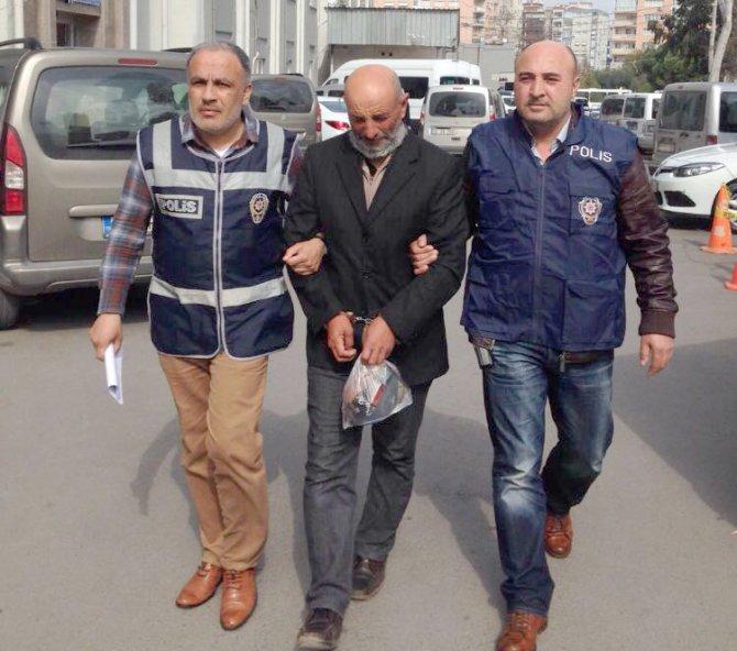 Temizlik işçisini falçata ile kesen zanlı tutuklandı