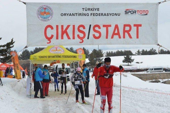 Kayakla Oryantring Şampiyonası Sarıkamış'ta!
