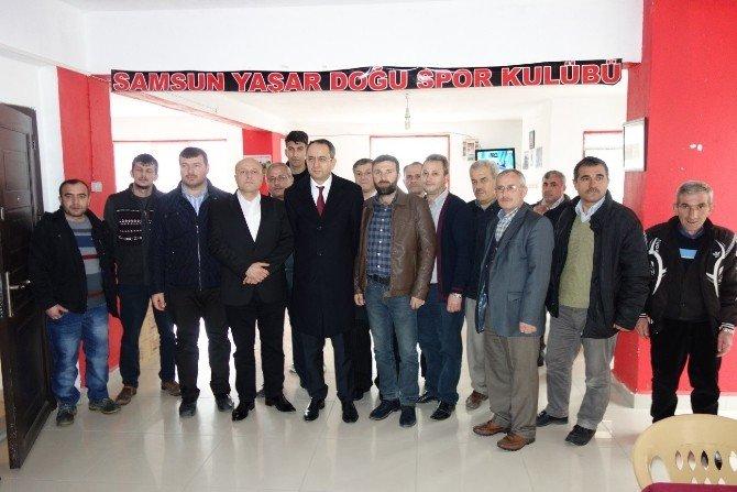 Çerkezköy Kaymakamı Kubilay'dan Hemşehri Derneklerine Ziyaret