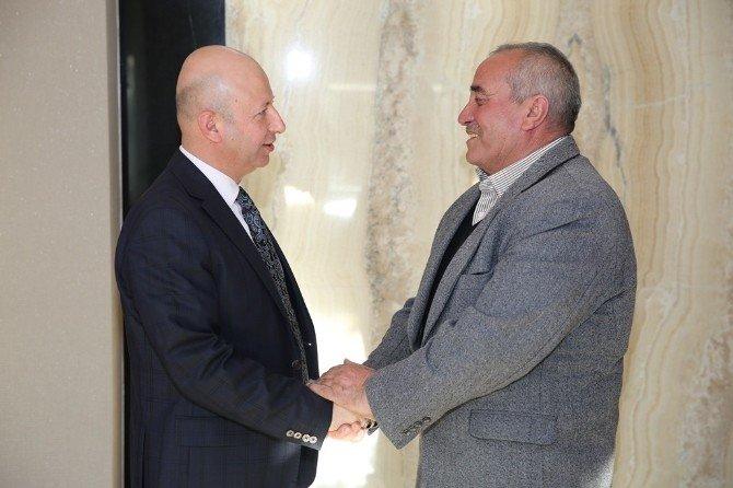 Başkan Çolakbayrakdar, Rektör Güven'i Ağırladı