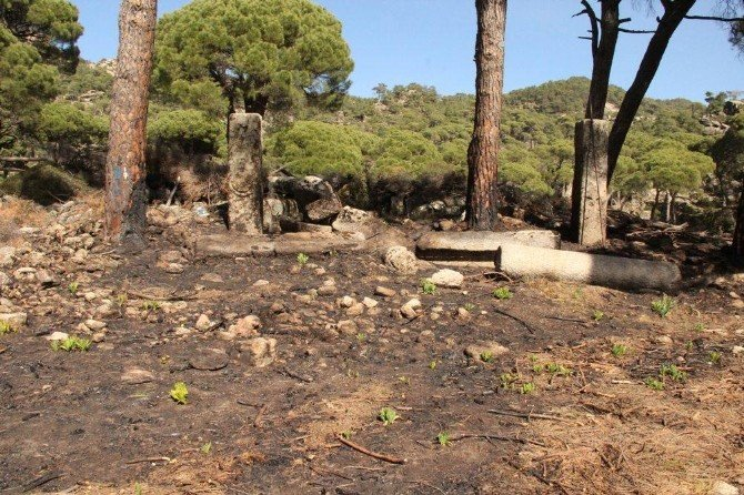 Latmos'ta Yangın