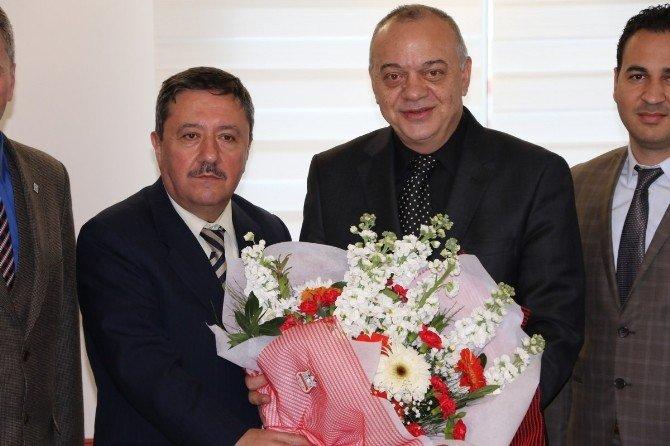 Muhasebecilerden Başkan Ergün'e Ziyaret