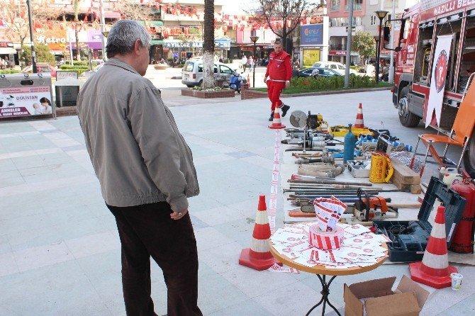 Nakut, Depremden Korunma Standı Açtı
