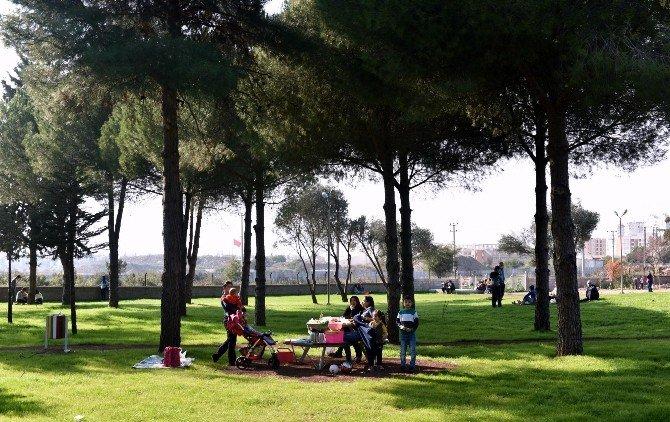 Antalya'nın Central Park'ı Dokuma