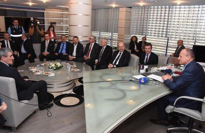 Başkan Keleş: ''Karşılıklı İşbirliği Gelişmelidir''