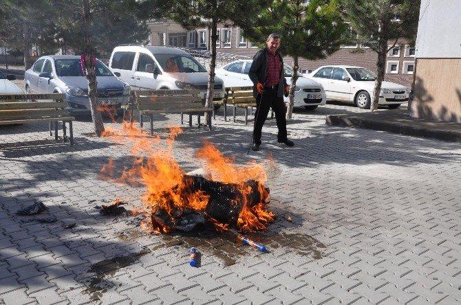 Sorgun'da Yangın Tatbikatı Gerçeğini Aratmadı