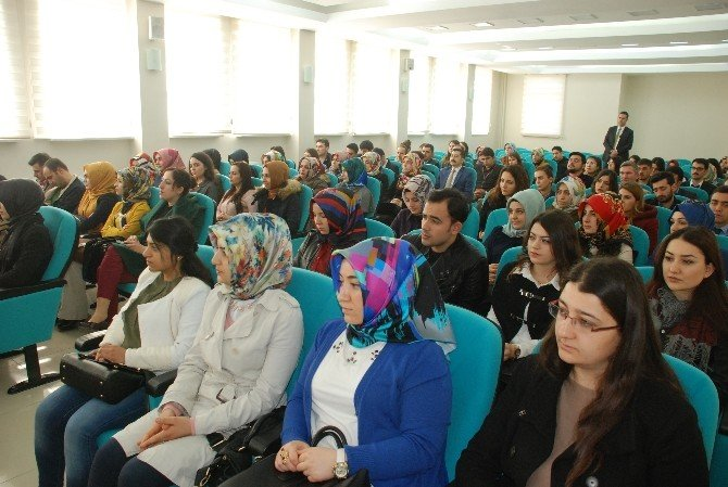 Tokat'ta 99 Aday Öğretmene İlk Ders
