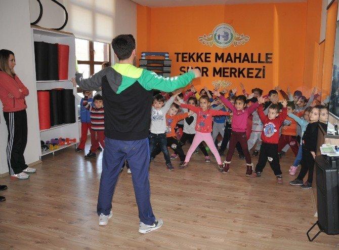 Bozüyük'te Miniklere Spor Eğitimi