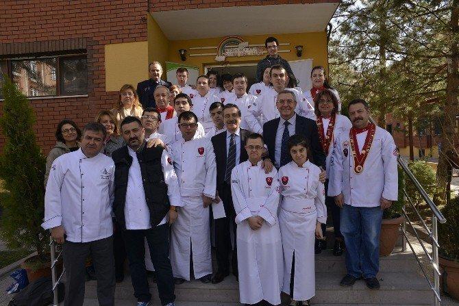 """Eskişehir'e """"Engellilere Mesleki Eğitim"""" Projesi"""