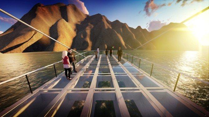 Tortum Gölü Fiyort Park Projesi Hazırlandı