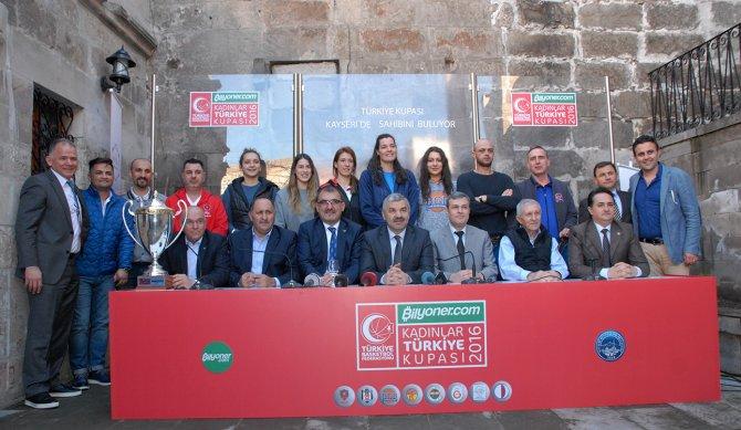 Kadınlar Türkiye Kupası öncesinde toplantı düzenlendi