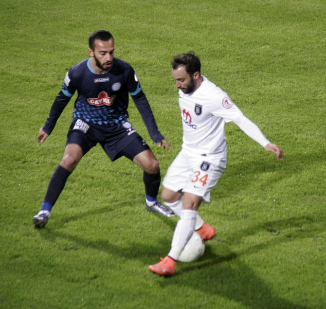 Çaykur Rizespor: 0 - Medipol Başakşehir: 0 (İlk yarı)