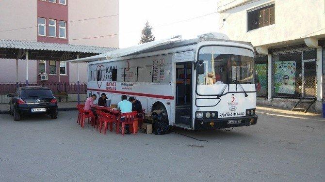 Yavuzeli'nde Kan Bağışı Kampanyası Düzenlendi