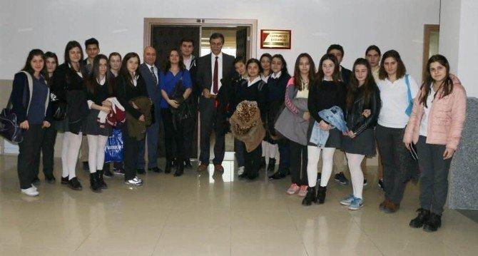 Öğrencilerden Başsavcı Topuz'a Ziyaret