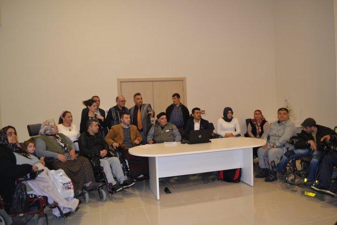 Erenoğlu, Manavgat Ortopedik Engelliler Derneği Başkanı oldu