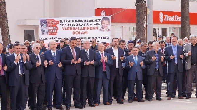 Keles'te Türkmenlere Yardım Seferberliği