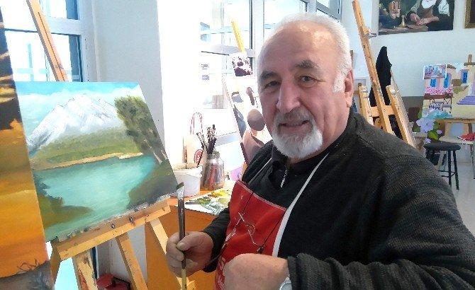 Ressam Necmettin Baydoğan: